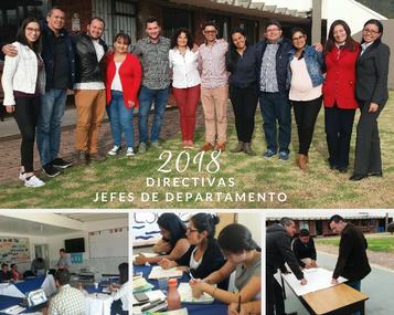 Semana de inducción a jefes de departamento y nuevos docentes